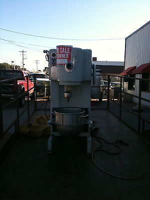 Commercial Two-speed Truimph Dough Mixer Floor M Attachments 60 Qweight 1500 P