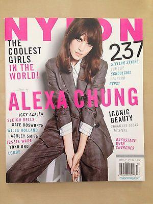 ALEXA CHUNG 2013 Nylon Magazine IGGY AZALEA ASHLEY SMITH LORDE SLEIGH BELLS