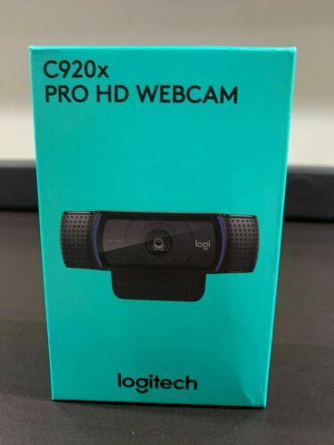 Logitech C920x Pro HD Webcam Xsplit 1080p Video Calling & Recording SHIPS FAST!