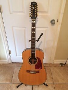 Gibson Epiphone 12 string Price Reduced