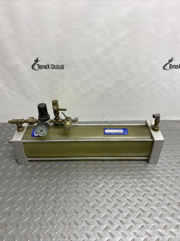 Chicago Controls MR1 (4x17) Air/Oil Cylinder 072393 Z-219