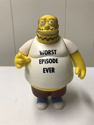 Comic Book Guy Simpsons (Simpson's Comic Book Guy Playmates Worst Episode Ever WoS World Of)