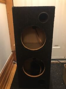 2x10´´ housing for subwoofers