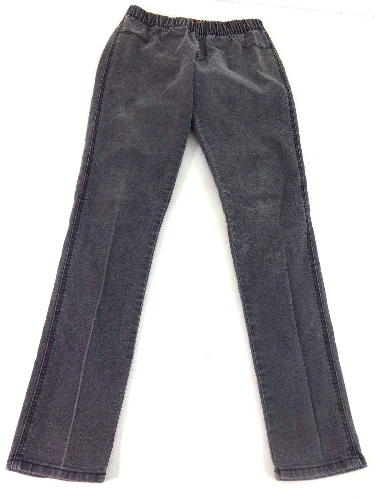 cd95b37dbe8 Details about H M DIVIDED WOMENS GRAY WASH GRAY DENIM COTTON BLEND SKINNY  JEANS SIZE 12