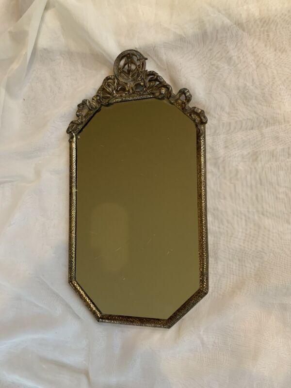 "Vintage Masonic Decorative Mirror  18"" x 10"""