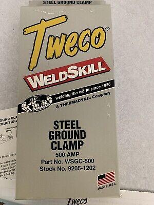 Welding Steel Ground Clamp Tweco 500 Amp Wsgc-500 500amp Weldskill Welder Metal