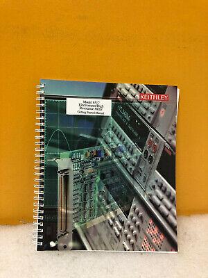 Keithley 6517 Electrometer High Resistance Meter Manual