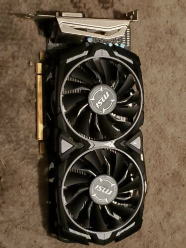 MSI Radeon RX 570 4GB GDDR5 Graphic Cards (RX 570 ARMOR 4G OC)