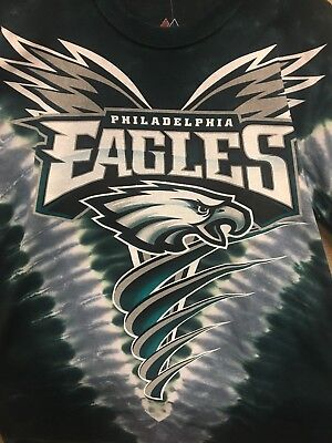 New PHILADELPHIA EAGLES V  Tie Dye T-Shirt NEW LICENSED TEAM APPAREL NFL - Philadelphia Eagles Apparel