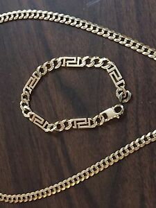 10k Gold chain and bracelet for trade or sale
