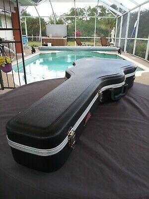 SKB 1SKB-8 Acoustic Dreadnought Guitar Case + Accessory Compartment New No Box