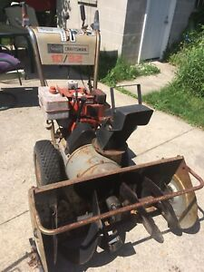Sears craftsman 10/32 snowblower