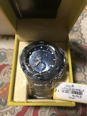Invicta Men's 50mm Subaqua Noma V Swiss Quartz Watch Light Blue 27679