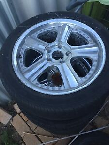 """18"""" rims and tyres $50!!! Perth Perth City Area Preview"""