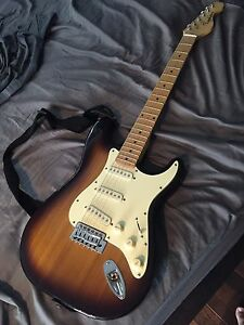 Typhoon electric guitar and Peavey amp