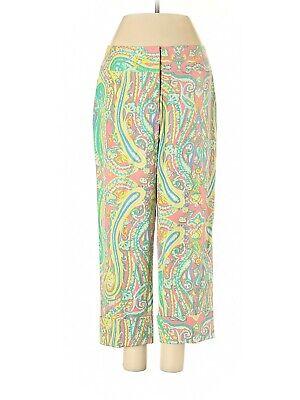 "J. McLaughlin ""Randi"" Paisley Silk Pants, Size 4, NWT"