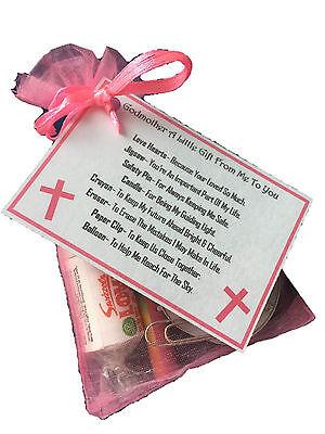 Godmother Survival Kit - Novelty Godparent Christening Gift
