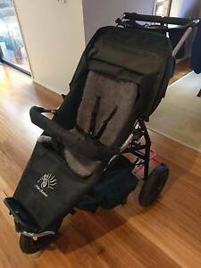 ABC ADVENTURE BUGGY COMPANY SINGLE STROLLER WITH ACCESSORIES Maribyrnong Maribyrnong Area Preview