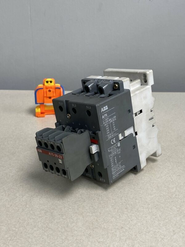 ABB A75-30-22 Power Switch Contactor (Used)