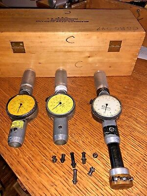 Standard Dial Bore Gages No. 3 4 5 One Bore Head Metric Standard
