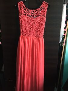 Coral Pink Prom/Formal Dress