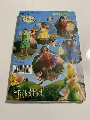 Simplicity Pattern 2872 sz 3-8 Disney Fairies Tinkerbell & friends
