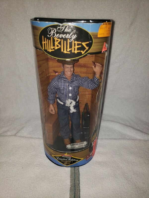 THE BEVERLY HILLBILLIES JETHRO CLAMPETT  DOLL LIMITED EDITION FULLY POSEABLE