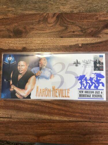 Aaron Neville 2004 Limited Edition New Orleans Jazz Fest Cachet Envelope
