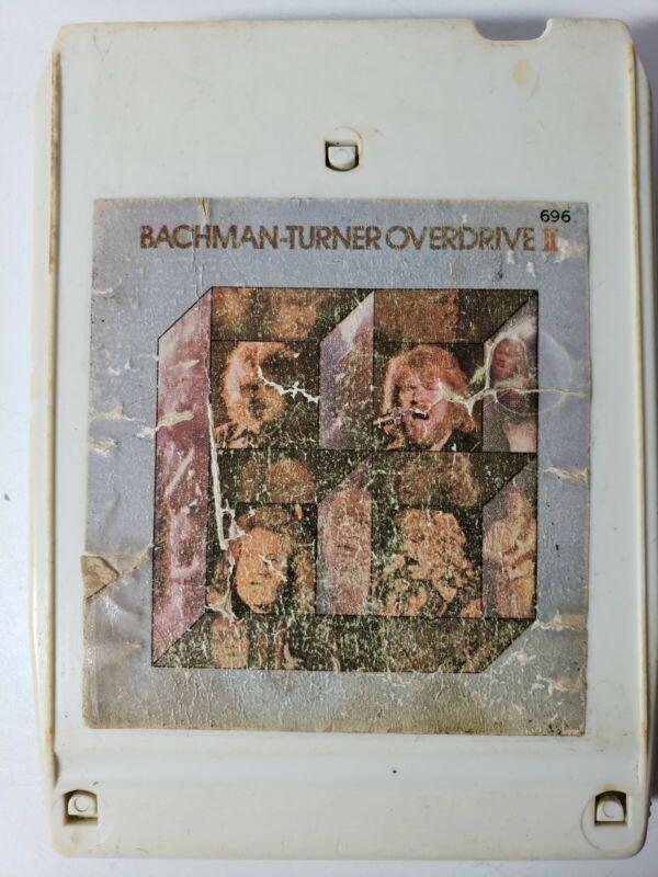 Bachman-Turner Overdrive Bachman - Turner Overdrive II Vintage 8 Track Tape
