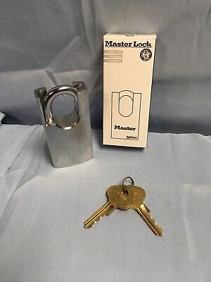 New Master Lock 7045 Pro Series Rekeyable Shrouded Solid Steel Padlock 7045ka