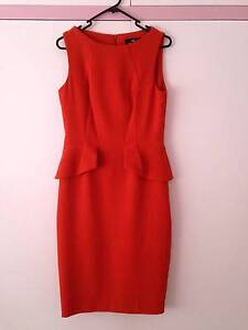 Cue  Orange Dress Size 10 Worn once only Toowong Brisbane North West Preview