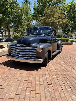 1951 Chevrolet series 3100  1951 Chevrolet series 3100 Pickup Black RWD Manual