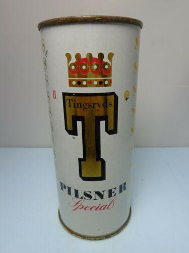 TINGSRYDS PILSENER SPECIAL II FLAT TOP BEER CAN  SWEDEN