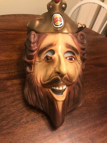 """Rubies 2007 Burger King """"The King"""" Mask - Halloween, Collectible, Same Day Ship!"""