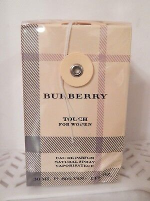 Burberry TOUCH for WOMEN EDP Natural Spray Perfume 1 oz NIB (437)