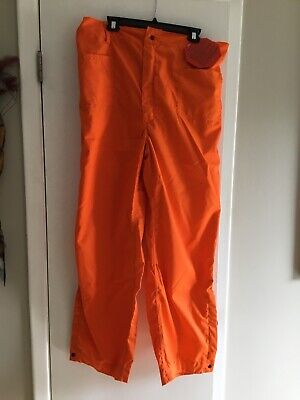Wildland Firefighter Orange Nomex Pants Size 2xl Barrier Wear New With Tag