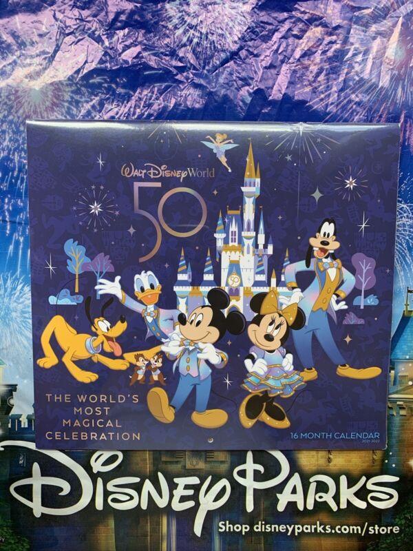 ❤️Walt Disney World 50th Anniversary Most Magical Celebration Calendar 2021/2022