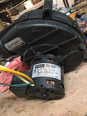 Fasco Inducer Fan 7062-2442 024-25007-000 Type U62b1 Ob93