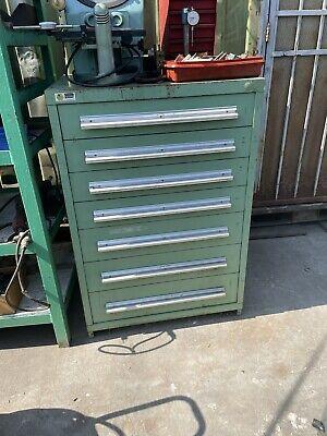 Stanley Vidmar 7 Drawer Tool Cabinet