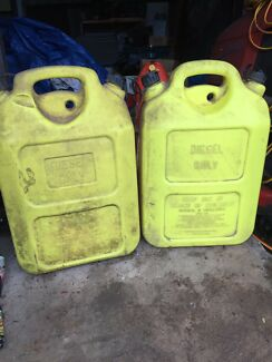 2 x 20 litre Diesel cans Nerang Gold Coast West Preview