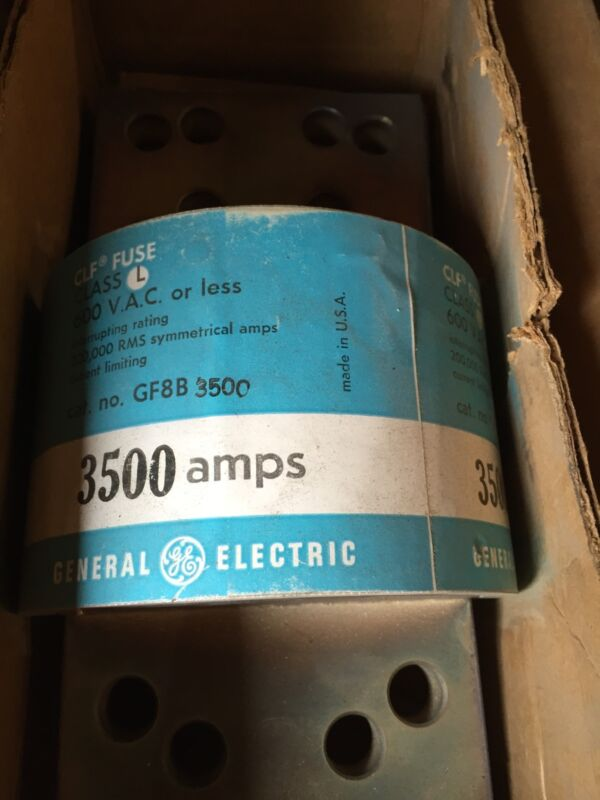 GE GF8B-3500 CLASS L FUSE 3500amps New in box
