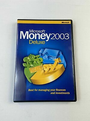 Microsoft Money 2003 Deluxe PC - Best for managing your finances and