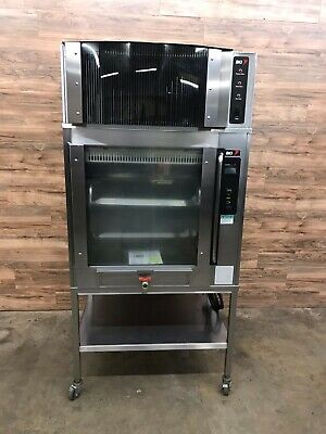 Bki Vgg-8-f Rotisserie Electric Oven Ph3 W Self Contained Exhaust Hood Ph1