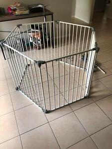 Kmart 3 In 1 Baby Playpen Door Barrier Or Room Divider Safety
