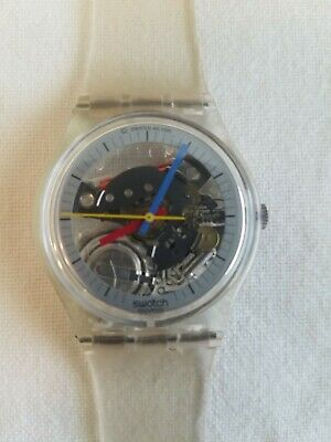 Vintage Swatch Watch 1985 Jelly Fish GK100 Mens