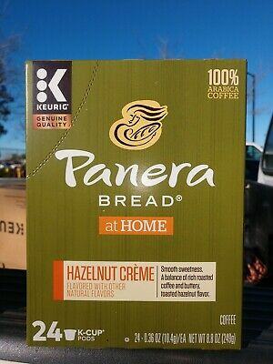 Panera Bread Hazelnut Cream, K-Cup Pods,96 Count. Best by Feb