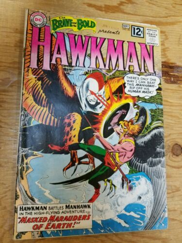 Brave and the Bold #43 Hawkman