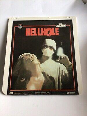 Hellhole CED VideoDisc Cult Horror (Not A DVD) Judy Landers Good Cond- Fast Ship