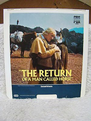 Ced Videodisc The Return Of A Man Called Horse  1976  United Artists  Cbs Fox