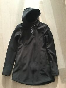 Bench hooded soft shell jacket - small